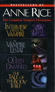 Complete Vampire Chronicles: 4 in 1