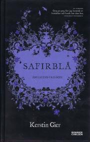 Safirblå